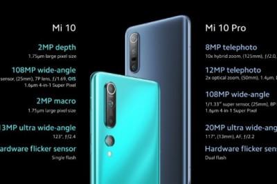 Phiên bản quốc tế của dòng Xiaomi Mi 10 được công bố, Xiaomi Mi 10 Lite