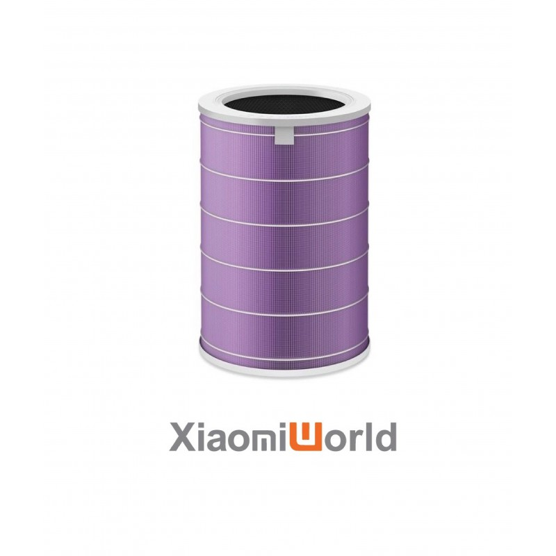 Lõi lọc không khí xiaomi Filter Purple Antibacterial Version (Kháng khuẩn) Cho Máy Gen 2C/2S/2H/3C/3H/Pro