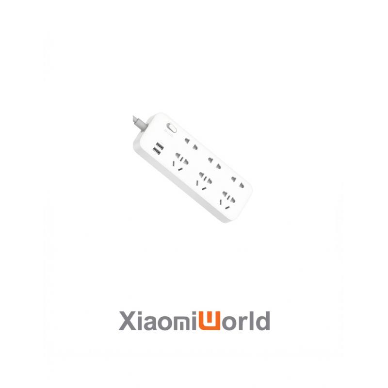 Ổ Cắm Điện 6 Đầu Tích Hợp 2 Cổng Sạc Nhanh USB ZMI CX05