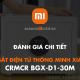 Két Sắt Điện Tử Thông Minh Xiaomi CRMCR BGX-D1-30M