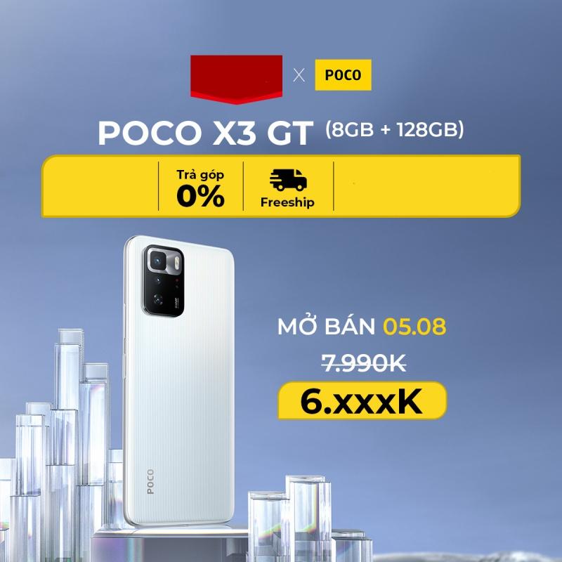 Điện Thoại Poco X3 GT 5G - Hàng Chính Hãng DGW (8GB/128GB)