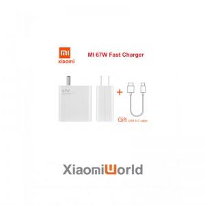 Bộ Sạc Nhanh Xiaomi 67W Kèm Cáp Sạc